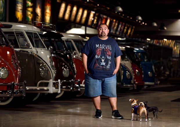 Gabriel Iglesias talks VW buses connecting with fans and cartoon voiceovers before headlining