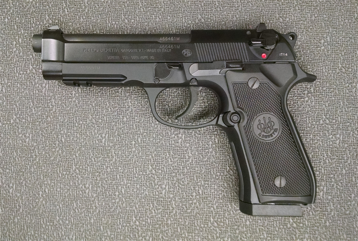 31 police handguns missing
