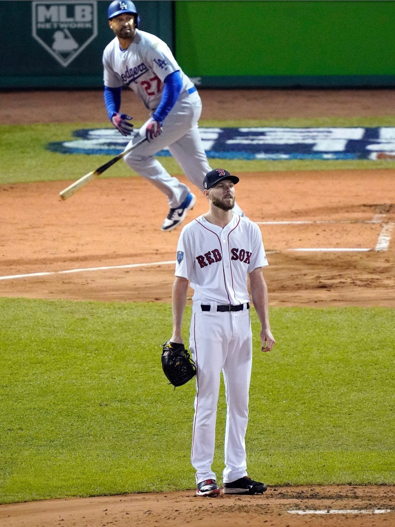 644870217 World Series photos  Dodgers vs. Red Sox Game 1 at Fenway Park ...