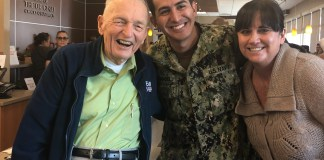 "Rossmoor Vet ""pays it forward"" and backwards for military at local Chick Fil-A"