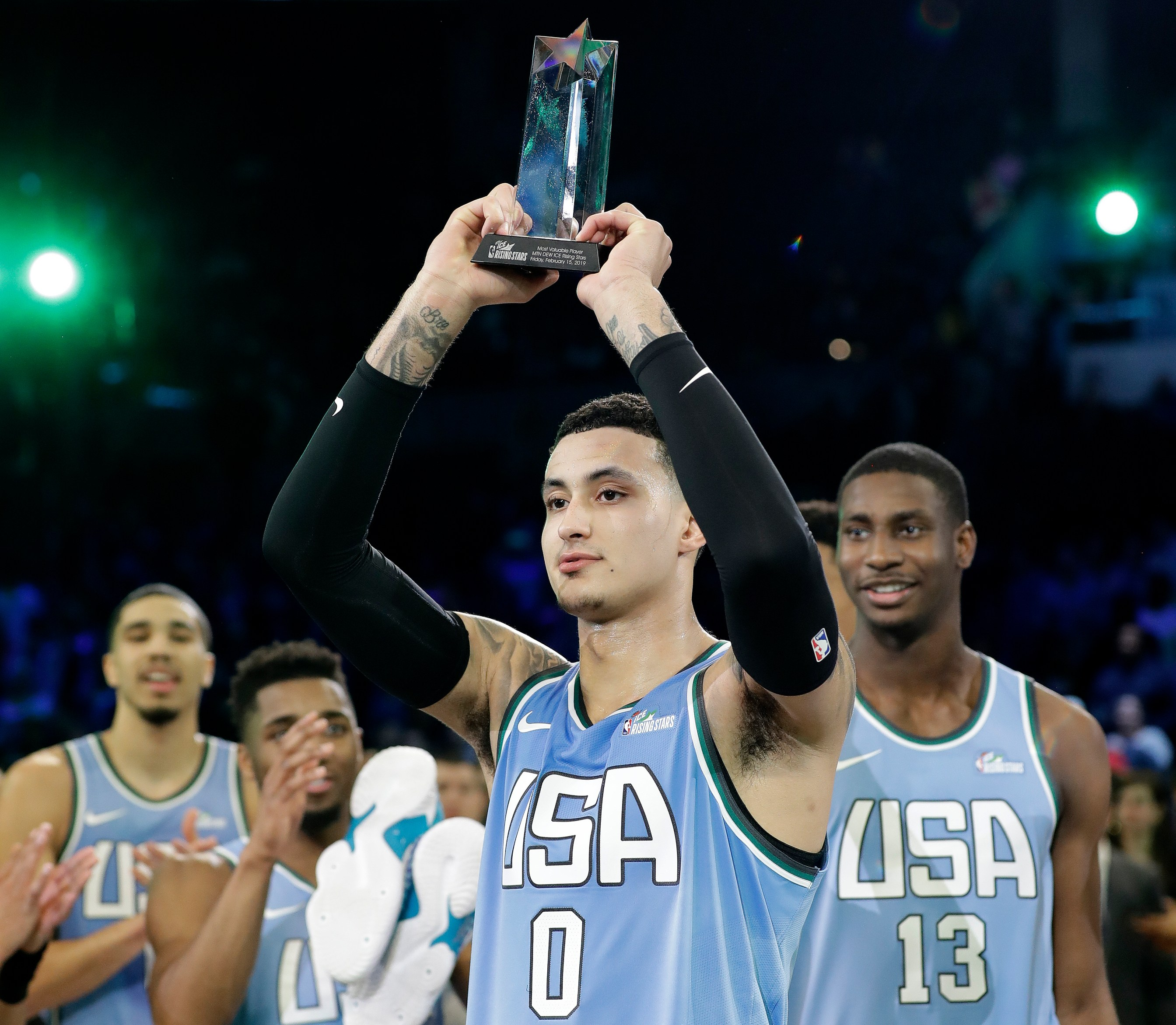 To Lakers' Kyle Kuzma, Rising Stars MVP Means A Little More