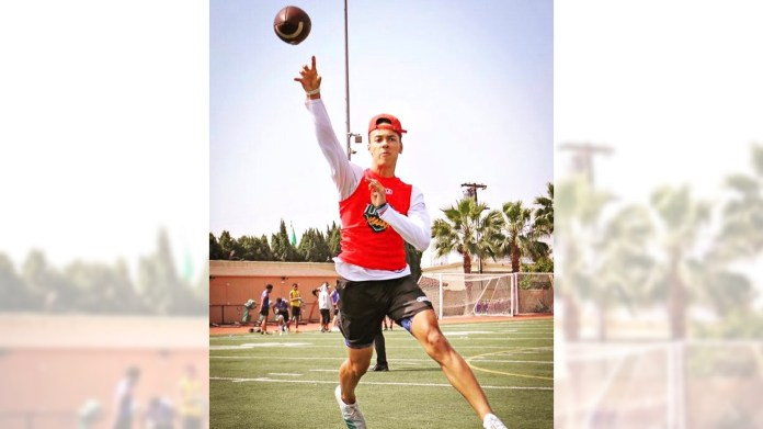 Incoming football phenom enrolls at Los Alamitos