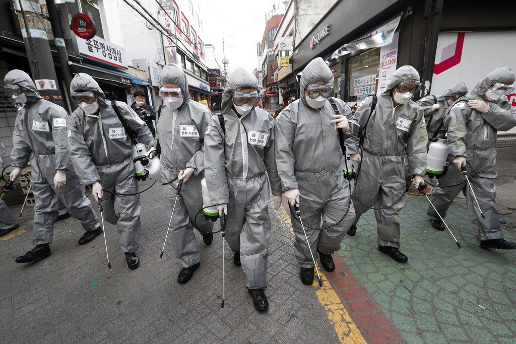 Coronavirus takes hold in South Korea, Iran, Italy as China spread ...