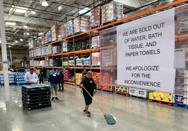 Image result for costco empty shelves
