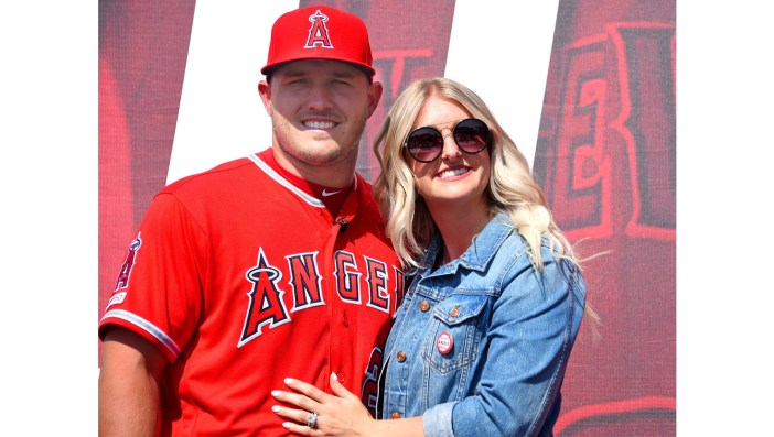 Angels' Mike Trout, wife expecting a baby boy in August – Orange ...