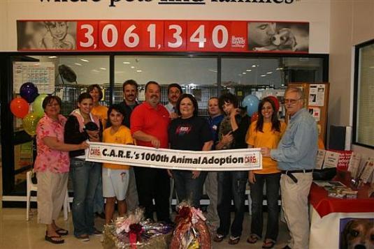 CARE Celebrates 1000th Adoption Orange County Register