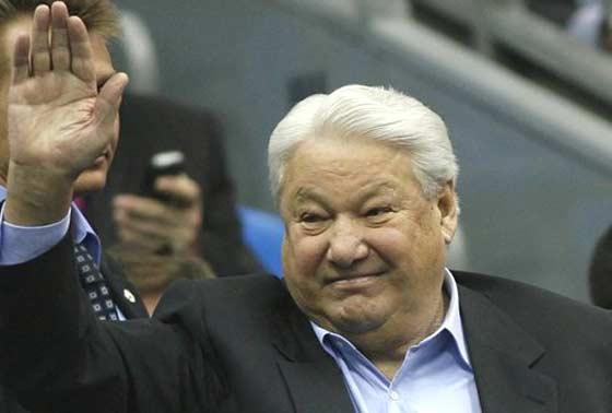 Boris Yeltsin pioneering Russian president dead at 76  Orange County Register