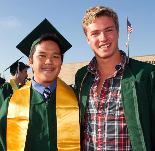 Photos Costa Mesa High School 2010 graduation  Orange County Register