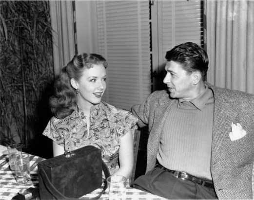 Image result for piper laurie and ronald reagan in louisa