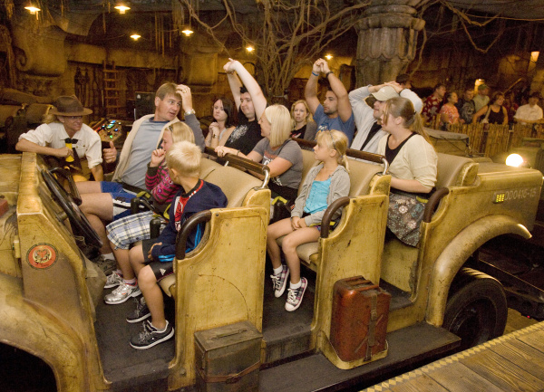 Vigilance a fulltime job on Indiana Jones ride  Orange County Register