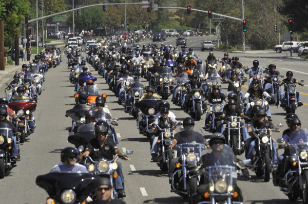 3000 bikers expected for 911 ride from Cooks Corner