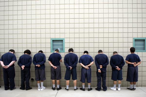 Boys girls housed sidebyside in OC Juvenile Hall