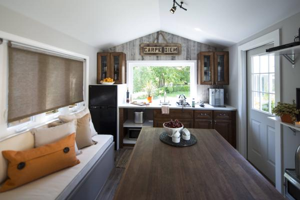 Tv Shows Cram Big Time Designs Into Small Spaces Orange