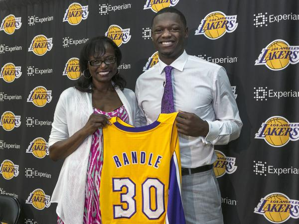 Boyhood dream comes true for Lakers' Randle – Orange County Register