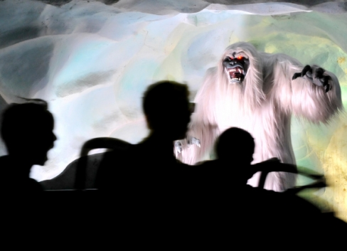 Loch ness monster realistic drawing. Video See Disneyland S Bigger Scarier Abominable Snowman On The Matterhorn Orange County Register