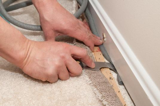 Installing Baseboard Before Carpet