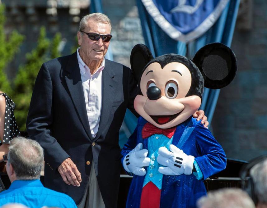Ron Miller Walt Disneys soninlaw and former Disney CEO
