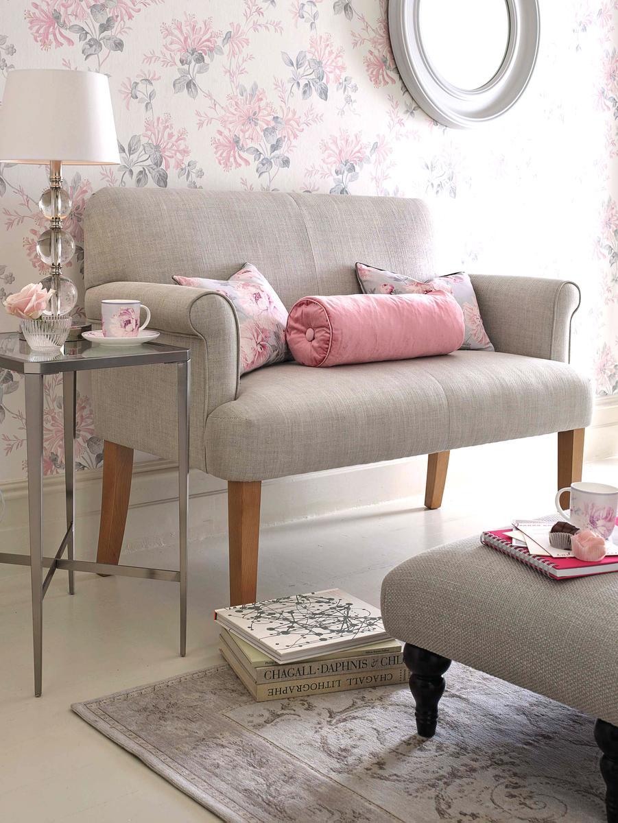 Laura Ashley Furniture Sofas Stunning Laura Ashley Baslow Brown Leather Corner Sofa Footstool