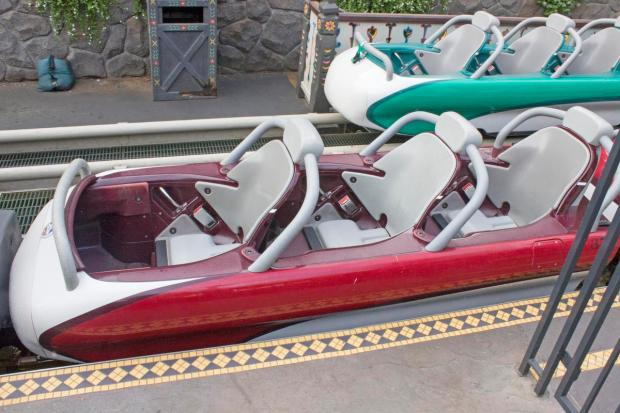 You have to step over the edge and into them from. Disneyland Cushions Added To The Matterhorn Bobsleds Orange County Register