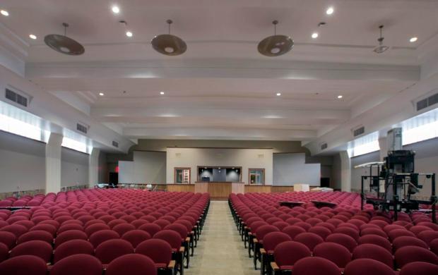 80yearold Valencia High auditorium made new again