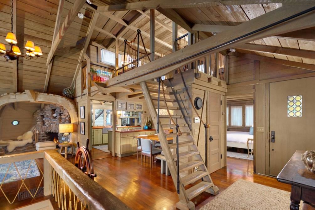The Ark historic Laguna Beach house built to look like