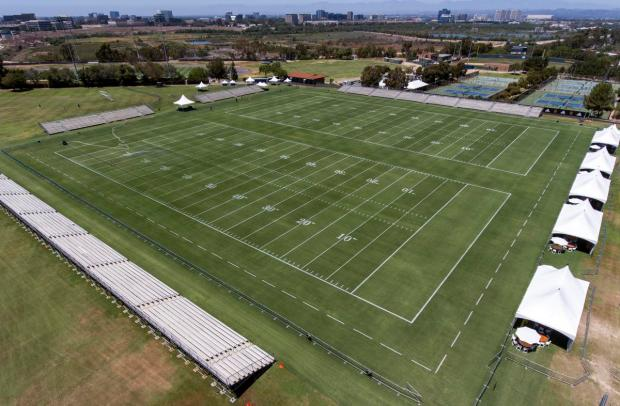 Heres how UC Irvine transformed into Los Angeles Rams training ground  Orange County Register