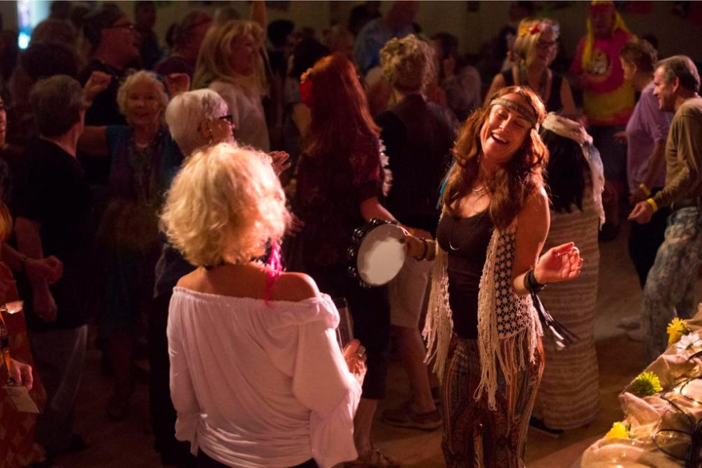 Baby Boomers party like its 1969 at Laguna Woodstock