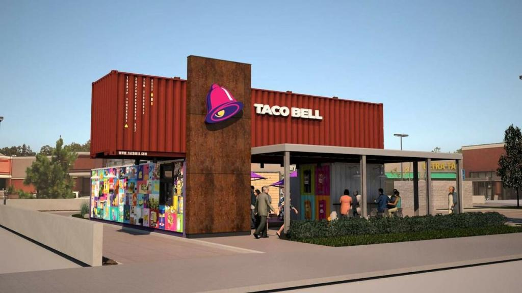 Worlds first Taco Bell in a shipping container coming to