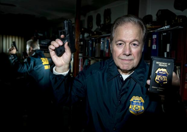 Retired IRS agent has amassed one of the largest badge collections in the nation  Orange County