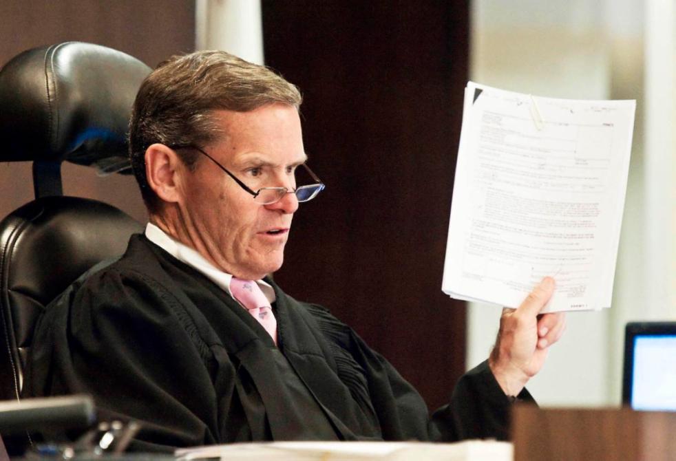 At murder retrial judge finds misconduct in Orange