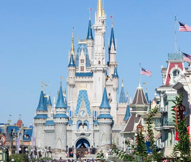 Cinderella Castle In The Magic Kingdom At Walt Disney World Is The Centerpiece Of The Theme Park And Is The Entrance To Fantasyland