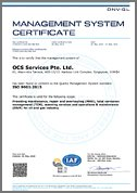 ISO Certification (Singapore)