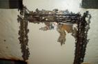 Spot corrosion & paint failure in tank 2p