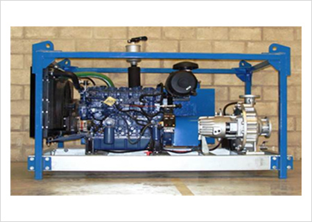 Ultra High Pressure Water Jetting Machine