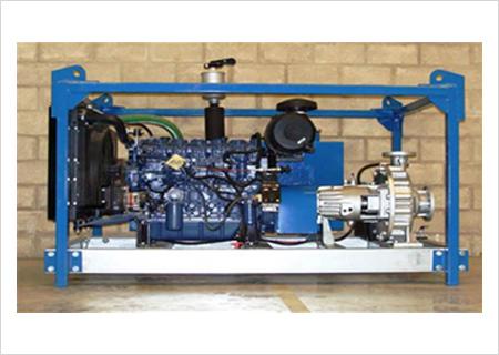 Ultra High Pressure Water Jetting Machine