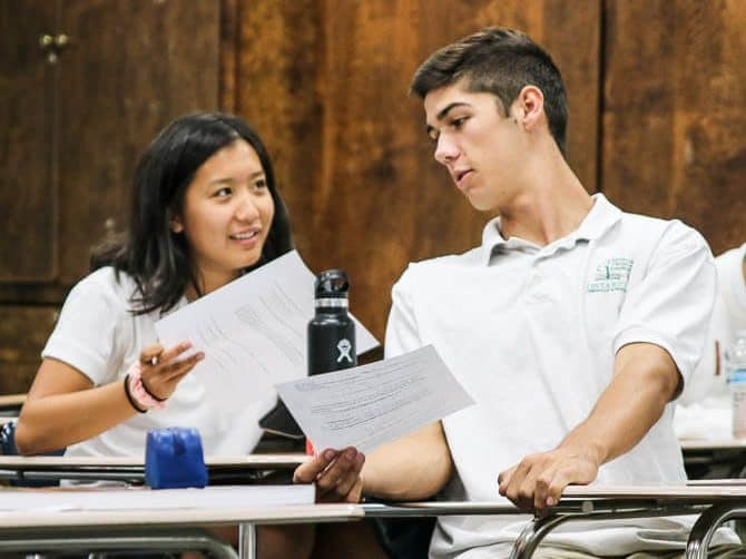Ontario Christian students score above national averages on SAT and ACT