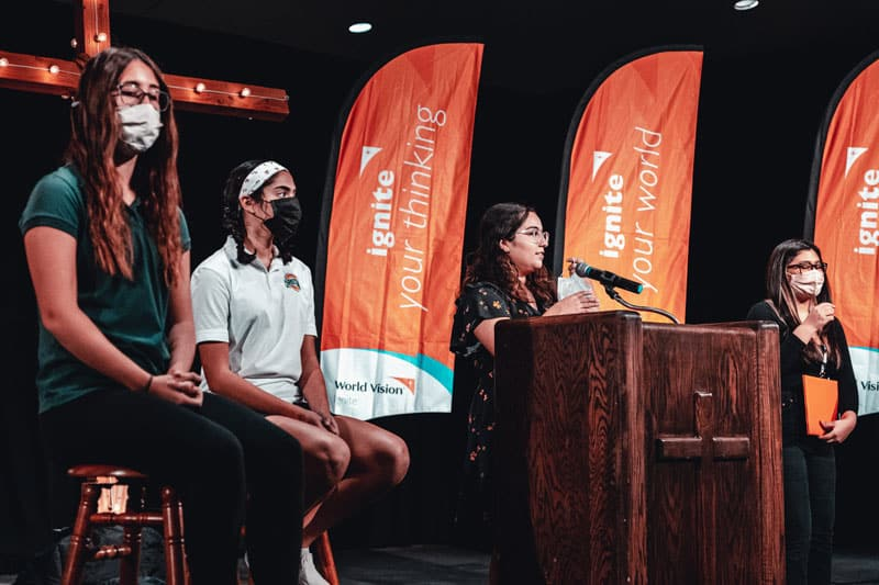 The World Vision Social Innovations Challenge challenge gave students the opportunity to learn about a specific challenge in a third-world country and provided resources to help them create an organized plan that would solve the problem in a culturally relevant and sustainable way.