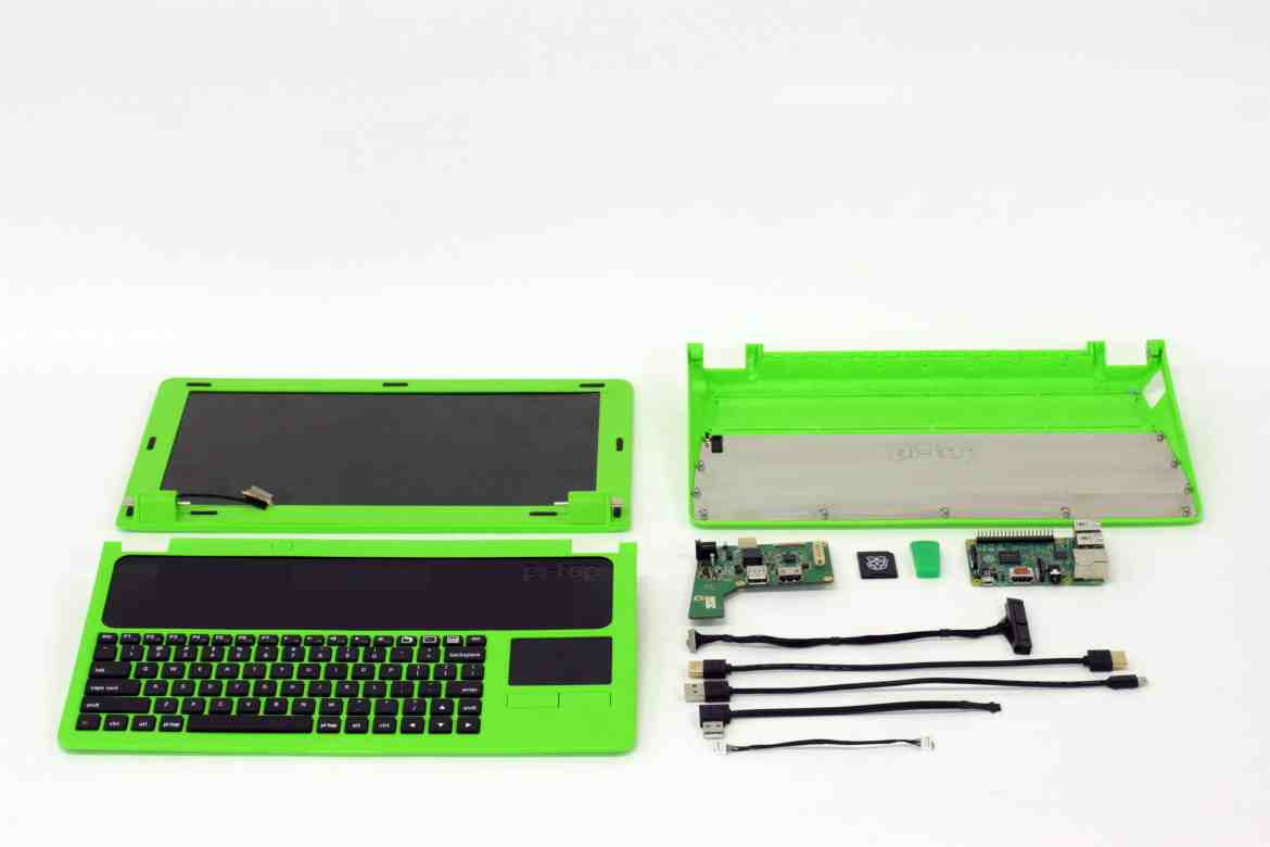 The Pi-Top comes in kit form.