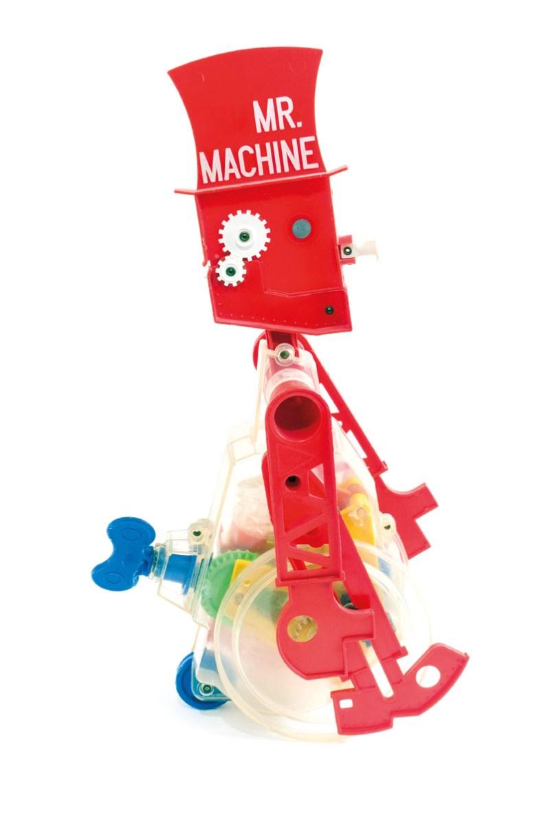 """Altes Spielzeug """"Mr. Machine"""""""