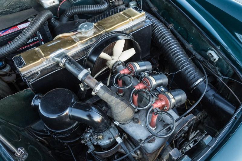 Motor des DKW Fissore