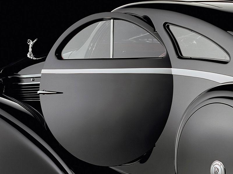 Runde Tür des Round Door Rolls-Royce