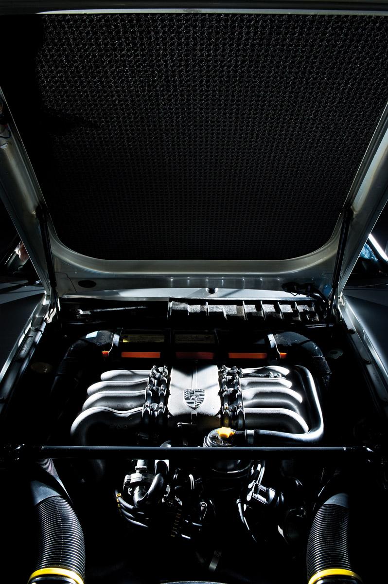 Motor des Porsche 928
