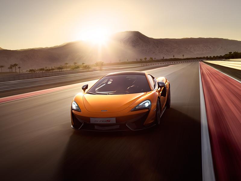 McLaren 570S fahrend