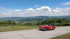 #42, Mille Miglia, Gabriele Spangenberg, Jaguar XK 140, Claudia Hürtgen