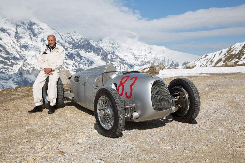 #32, Audi, Typ C, Silberpfeil, Hans Joachim Stuck, Striegel Stuck, Grossglockner