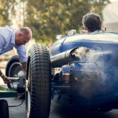 #41, Bugatti, Typ 59/50S, Robert Benoist, Neuaufbau