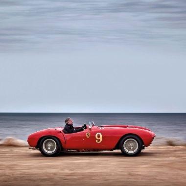 #21, Ferrari, 375 MM Spider, Phil Hill, Barchetta