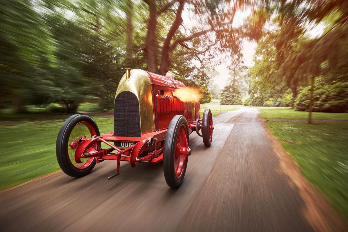 #20, Fiat S76, Beast of Turin, 1911, Rennwagen