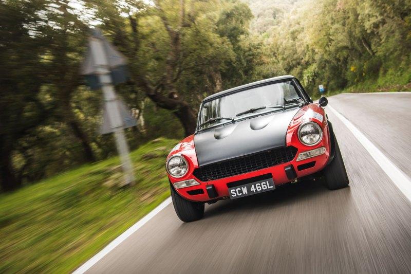 #34, Fiat 124 Spider, Abarth, Targa Florio