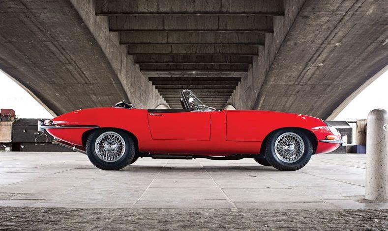 Jaguar, E-Type, #23, London, Cabrio